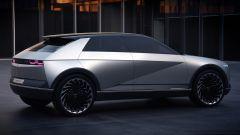 Hyundai 45 EV Concept 2019, vista 3/4 posteriore