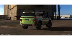 Hyundai: 5 porte, 4x4, presa d'aria per il motore come i veri 4x4. Il rendering di Enoch Gabriel Gonzales