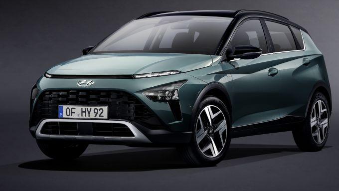 Hyundai Bayon: frontale