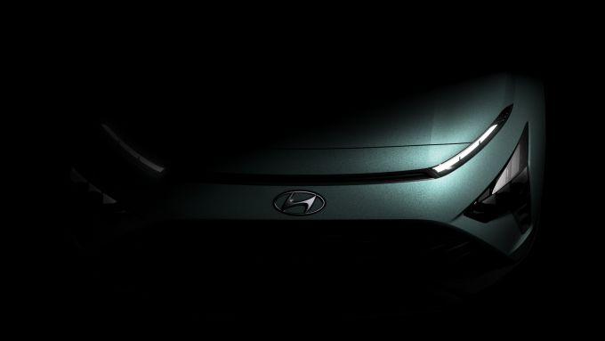 Hyundai Bayon, i primi teaser