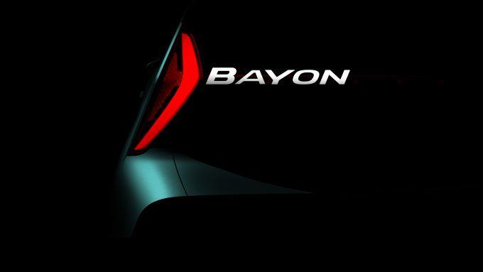 Hyundai Bayon, world premiere il 2 marzo