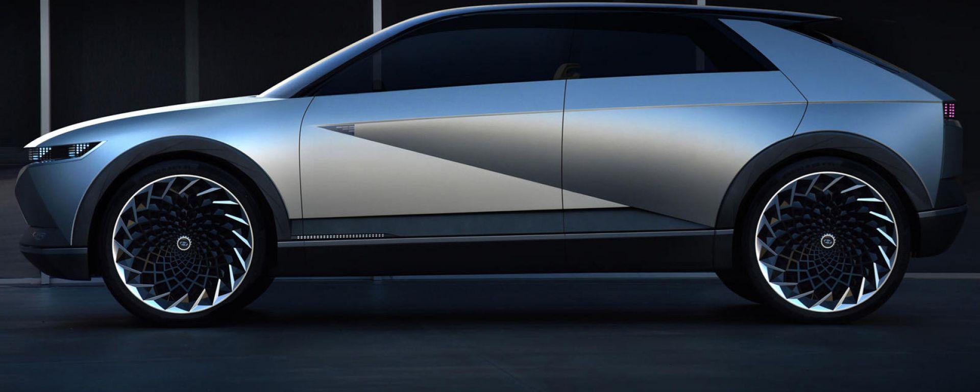 Hyundai concept 45: prefigura nuova Ioniq 5?