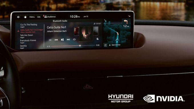 Hyundai e Nvidia per Nvidia Drive