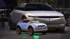 Hyundai baby-car elettrica: il video. Motori, velocità massima