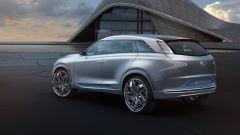 Hyundai FE Fuel Cell, il posteriore