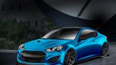 Hyundai Genesis Coupé concept - Immagine: 1
