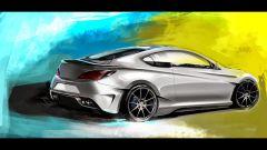 Hyundai Genesis Coupé concept - Immagine: 3