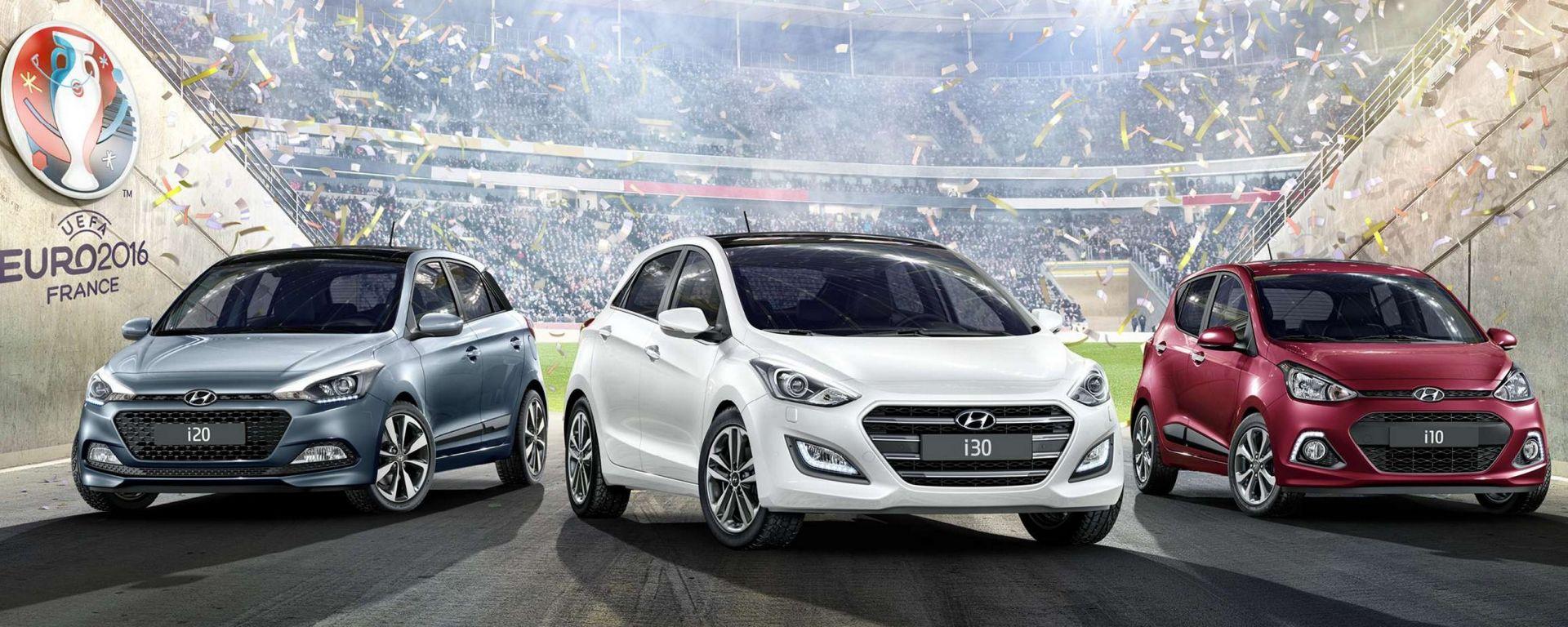 Hyundai Go! Edition: l'edizione limitata dedicata agli Europei di calcio