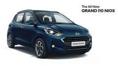 Hyundai Grand i10 Neos, vista 3/4 anteriore