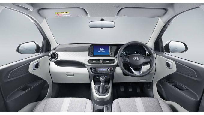 Hyundai Grand i10 Nios: gli interni
