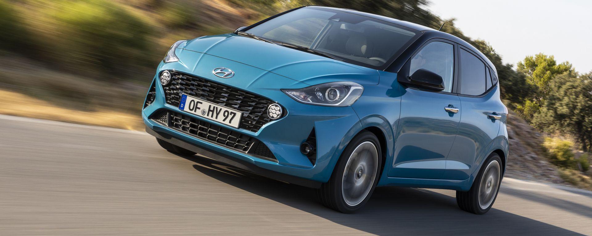 Hyundai i10 2020: tutti i suoi segreti in anteprima