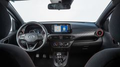 Hyundai i10 N Line 2021: interni, l'abitacolo