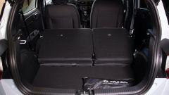Hyundai i10 N Line 2021: vano bagagli da 252 litri
