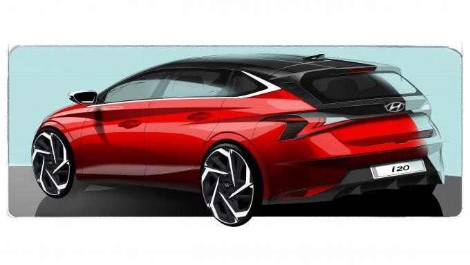 Hyundai i20 2020: i primi bozzetti ufficiali