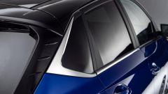 Hyundai i20 2020: particolare del montante posteriore