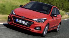 Hyundai i20: il frontale
