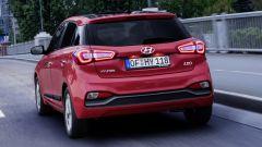 Hyundai i20: il posteriore