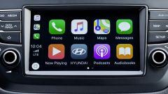 Hyundai i20: l'infotainment compatibile con Apple Carplay e Android Auto