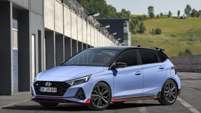 Hyundai i20 N 2021: esterni