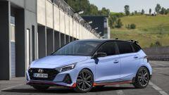 Hyundai i20 N 2021: i cerchi sono da 18