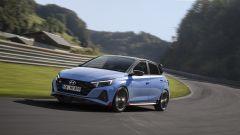 Hyundai i20 N 2021: i fari anteriori sono a LED