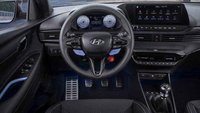 Hyundai i20 N 2021: interni