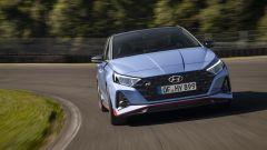 Hyundai i20 N 2021: vista frontale