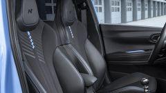 Hyundai i20 N, i sedili sportivi