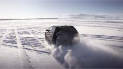 Hyundai i20 N: in azione sul lago ghiacciato