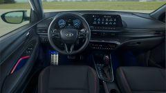 Hyundai i20 N Line: gli interni specifici per questa versione