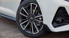 Hyundai i20 N Line: i cerchi esclusivi da 17
