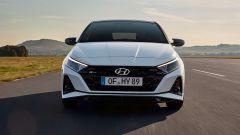 Hyundai i20 N Line: vista anteriore