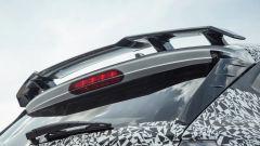 Hyundai i20 N: lo spoiler posteriore