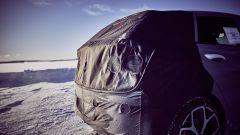 Hyundai i20 N: vista da vicino, ma il posteriore è coperto e non lascia intuire molto