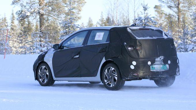 Hyundai i20 posteriore