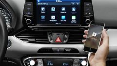 Hyundai i30 2017, il sistema multimediale