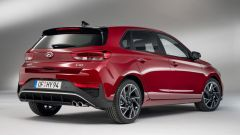 Hyundai i30 3/4 posteriore