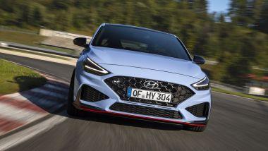Hyundai i30 N 2021: DLR con forma a V