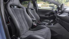 Hyundai i30 N, i sedili decisamente racing
