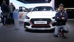 Hyundai i30 N Option, a Parigi 2018 nuova linea di accessori sportivi