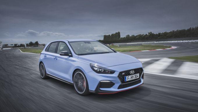 Hyundai I30 N Performance: 3/4 anteriore