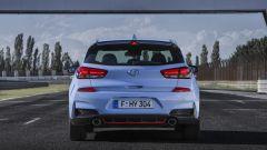 Hyundai i30 N - visuale posteriore