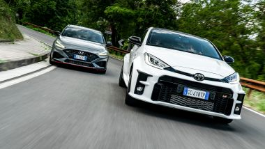 Hyundai i30 N vs Toyota GR Yaris: hot hatch contro