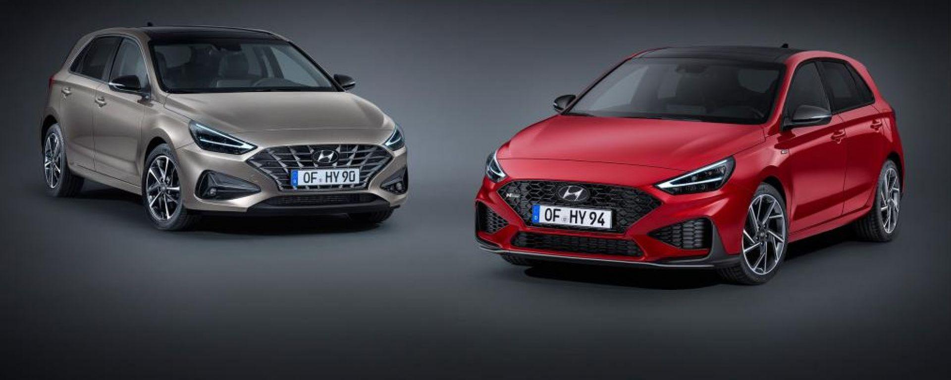 Hyundai i30 restyling