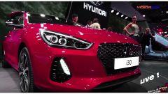 Live Parigi 2016: nuova Hyundai i30 e i10 restyling in video - Immagine: 1