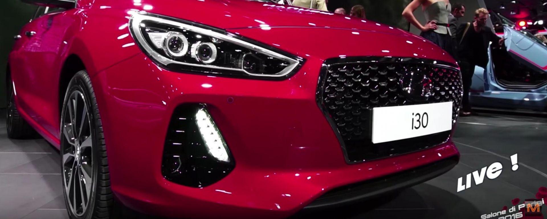 Hyundai i30 Salone di Parigi 2016