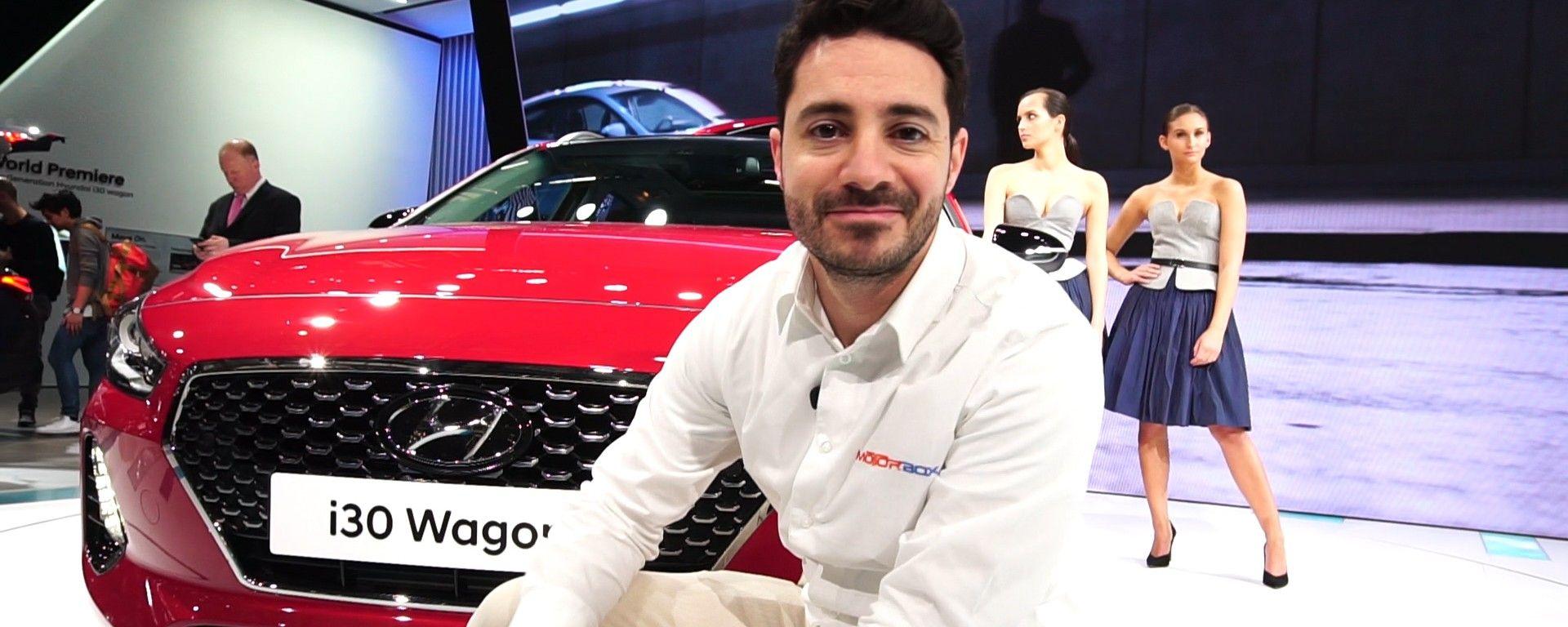 Hyundai i30 Wagon: lo stand a Ginevra 2017