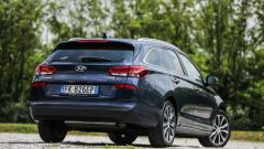 Hyundai i30 Wagon - vista posteriore