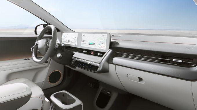 Hyundai Ioniq 5: abitacolo