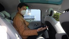 Hyundai Ioniq 5: i sedili posteriori - dal video di Asian Petrolhead